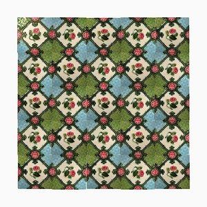 Glazed Relief Tile from S.A. Produits Ceramiques, 1930s