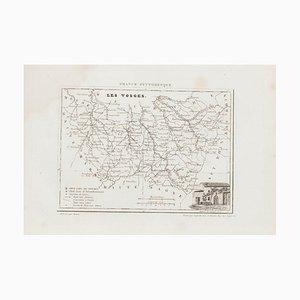 Unknown, Les Vosges, Original Lithograph, 19th Century
