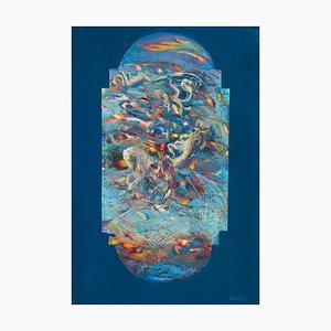 Franco Mulas, Pala N°2, Original Oil Painting, 2021