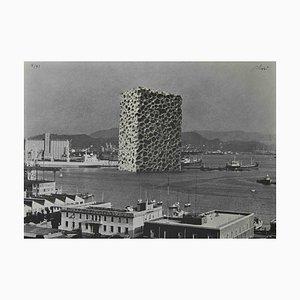 Fabrizio Plessi, Emergency Sponge in Case of High Tide in Venice, Original Offset Print, 1972