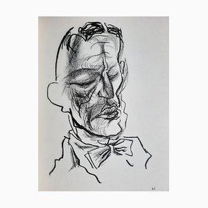 George Grosz, Ade Witboi, Illustrated Book, 1955