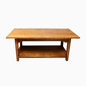 Mid-Century Oak Coffee Table