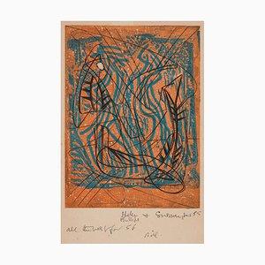 Stanley Hayter, Zwei Kompositionen, 1952