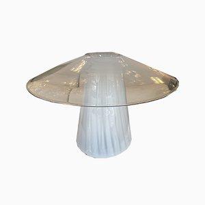 Italian Murano Glass Mushroom Lamp from Venini, 1970s