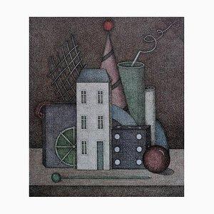 Joanna Wiszniewska Domańska, Still Life with a House (...), 2003