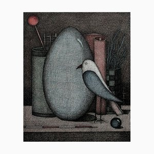 Bodegón con pájaro, 1999. Joanna Wiszniewska Domańska