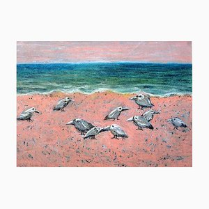Magdalena Rytel-Skorek, Birds on The Beach, 2004