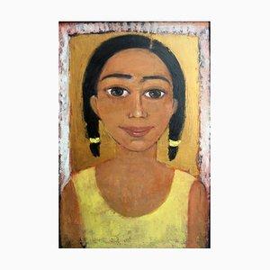 Marlena Nizio, A Girl in Yellow Dress, 2000