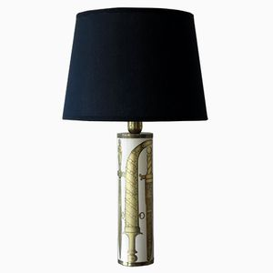 Italian Table Lamp by Piero Fornasetti for Fornasetti, 1950s