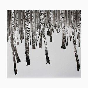 Agnieszka Staak-Janczarska, La Forêt d'Hiver III, 2017
