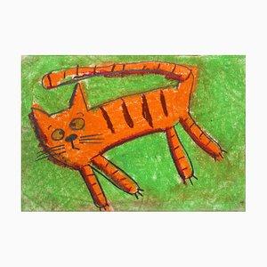 Anna Zawadka, Eine Katze (Haustiere), 1999