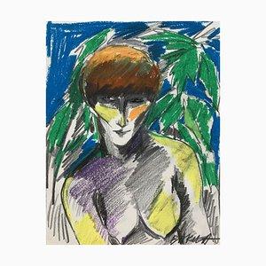 Hanna Bakula, autorretrato, 1985