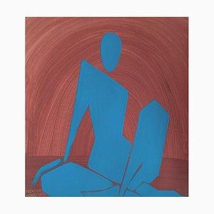 Waleria Matelska, Blue Woman, 2021