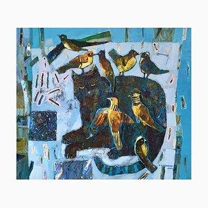 Alicja Urbaniak-Słaboń, Cat and Birds, 2000