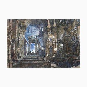 Pawel Dmoch, Ohne Titel (Church Interior), 2011