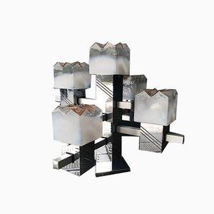 Table Lamp with 5 Lights by Gaetano Sciolari