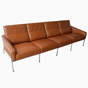 Vintage Model 3304 Lufthavnssofa Sofa by Arne Jacobsen for Fritz Hansen