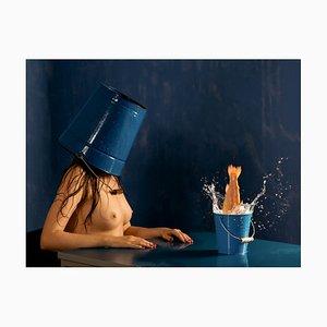 Horst Kistner, Face 3 Blue, Fotografie, 2020