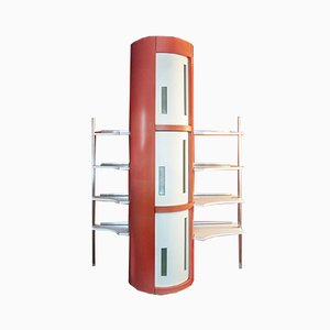 Formica Library Shelves by Luigi and Renato Manzoni, Italy, 1958