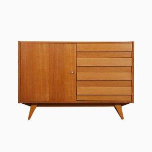 Wooden Vintage Model U-458 Dresser by Jiri Jiroutek for Interier Praha, 1960s
