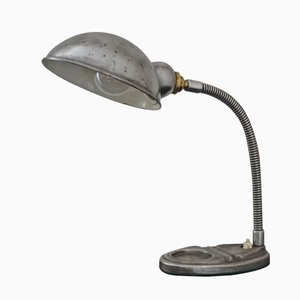 Vintage Industrial Goose Neck Desk Lamp, 1920s