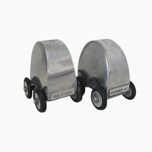 Novelty Car Salt & Pepper Shakers, 1960s, Set of 2