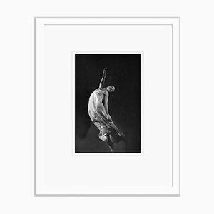Imprimé Margot Fonteyn en Gélatine Argentée Encastrée Blanche par Baron