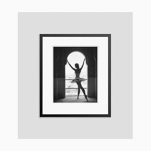 Margot Fonteyn Silver Gelatin Resin Print Framed in Black by Baron