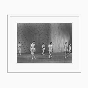 Symphonic Variations Silver Gelatin Resin Print Framed in White by Baron