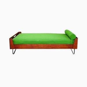 Gebogenes Tagesbett aus Schichtholz von Campo E Graffi, Italien, 1970er