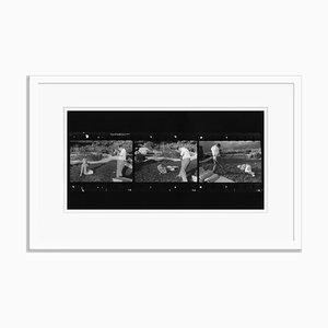 Stampa in gelatina di Marilyn e Baron, bianco e nero di Baron per Galerie Prints