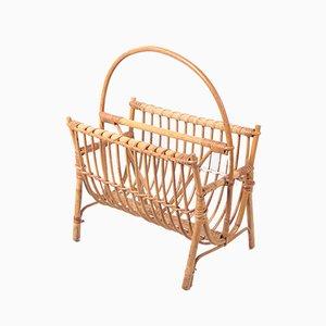 Rayon de Rangement Style Bohémien en Bambou
