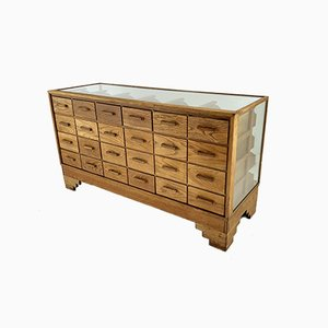 English Art Deco Haberdashery Cabinet by Dudley & Co, London