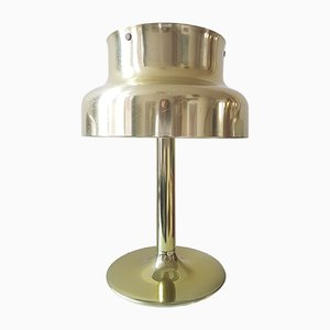 Bumling Tischlampe mit Messing Oberfläche von Anders Pehrson für Ateljé Lyktan, 1970er