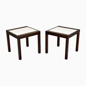 Hexa Side Tables by Bernard Vuarnesson for Bellato, 1980s, Set of 2