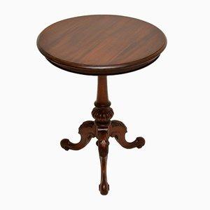 Antiker viktorianischer Weintisch aus Mahagoni