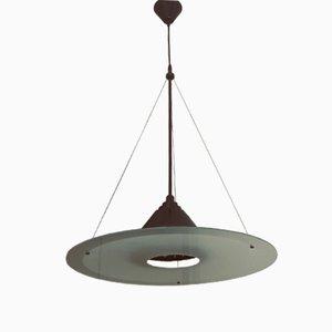 Italian Murano Glass Ceiling Lamp, 1980s