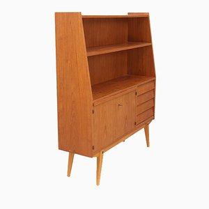 Skandinavisches Mid-Century Bücherregal aus Teak, 1960er