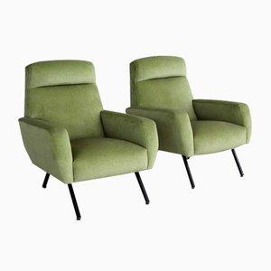 Italian Vintage Armchairs, 1960, Set of 2