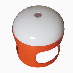Orange K27 Tischlampe von Joe Colombo, 1960er