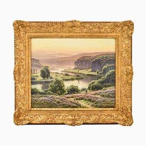 Didier Pouget, Doubs Valley, Landschaftsmalerei, 19. Jahrhundert