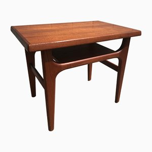 Small Teak Side Table by Niels Bach