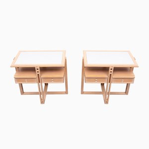 Nightstands by Alberto Giorgetti for Asnago, 1980s, Set of 2