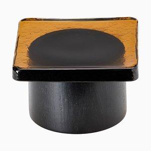 Pieduccio Schale mit Deckel aus Bernstein von SCMP Design Office für Favius