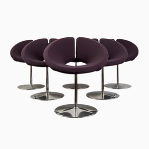 Rotating Little Apollo Chairs by Patrick Norguet, Set of 6