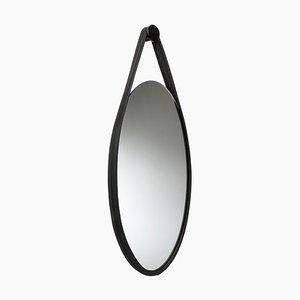 Hide Spiegel in Schwarz von Mikkel Vandborg für Favius