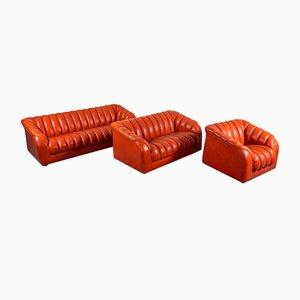 Sofa und Sessel Set, 1970er, 5er Set
