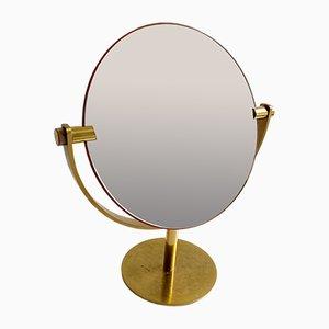 Italian Brass Table Mirror