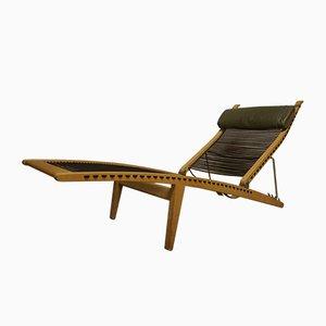 Mid-Century PP524 Deck Chair by Hans J. Wegner for PP Møbler