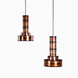 Pendant Lamps by Svend Aage Holm Sørensen, Set of 2
